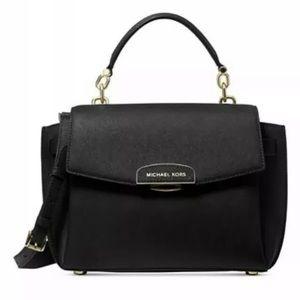 Michael Kors Rochelle top handle satchel black